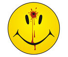 Dead Smiley Face Decal Bullet Hole Hippie Funny Emo Vinyl Window Sticker TCS