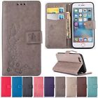 W/strap Wallet Cards Flip Leather Stand Cover Case For Apple iPhone 6 6s Plus