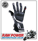 Richa WSS Motorcycle Motorbike Glove - Black/White