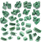 Terminal Block Connector Pitch 3.5/3.81/ 5.08mm/Screw/ Plug/ 90 Angle /Straight