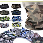 Multifunction head wrap neck tube scarf mask hat VEGETATO camo airsoft multicam