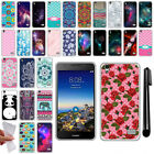 For Huawei SnapTo LTE G620 Pronto H891L TPU SILICONE Protective Case Cover + Pen