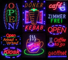 LED Sign Illuminated Sign Advertisement Stopper Neon Sign Sign Display £23.85 GBP on eBay