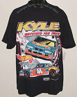 Vintage '98 NASCAR Kyle PETTY #44 Mattel HOT WHEELS Logo Athletic T-Shirt NWT 2X