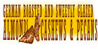 Weatherproof Concession Decal GERMAN ROASTED ALMONDS, CASHEWS, PECANS -Pick from