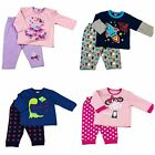 BABY BOYS/GIRLS JIM JAMS LONG SLEEVE LEG PYJAMA'S 12-18-24 MONTHS POST NEXT DAY