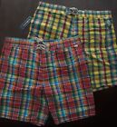 "NWT Ralph Lauren Polo Men's 8"" Sanibel Plaid Swim Trunks Swim Suit XL $80 NEW"