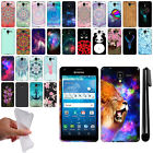 For Kyocera Hydro View C6742/Hydro Shore Art Design TPU SILICONE Case Cover +Pen