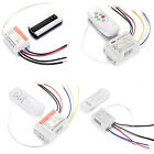 220V Wireless ON/OFF 1 /3 CH Way Lamp Remote Control Switch Receiver Transmitter
