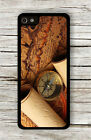 ANTIQUE COMPASS AND MAPS DESIGN CASE FOR iPHONE 4 5 5C 6 -slm8X