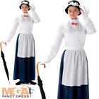 Victorian Nanny Ladies Fancy Dress World Book Day Womens Adults Costume Outfit
