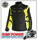Richa LADIES Infinity Motorcycle Motorbike Jacket - Black/Fluo