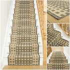 Lattice Tweed - Flatweave Sisal Style Stair Carpet Runner Rug Mat Long Quality