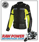 Richa LADIES Phantom Motorcycle Motorbike Jacket - Black/Fluo