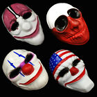 PAYDAY 2 MASCHERE COSPLAY DALLAS WOLF HOXTON CHAINS maschera mask payday2 horror