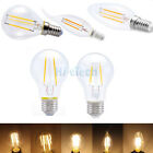 E27 E14 C37 G45 A60 4W 6W 8W Edison Retro Vintage Filament LED Bulb Candle Light