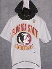 Vintage 90's FSU Florida St SEMINOLES SALEM T-Shirt Hooded NWT New Old Stock NOS