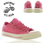 Converse Ladies Pink Chuck Taylor Girls Casual Sneaker Trainers Sports Shoes UK