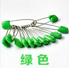 Fashion 10Pcs Safety Hold Locking Baby Cloth Nappy Diaper Pins Kit 7color