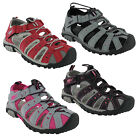 PDQ Closed Toe Walking Beach Holiday Sports Adventure Womens Shoes Sandals UK3-9