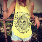 Women Summer Compass Vest Top Sleeveless Shirt Blouse Casual Tank Tops T-Shirt