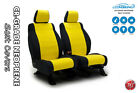 Coverking Neoprene Yellow Front Seat Covers for Jeep Wrangler JK 2014-2017
