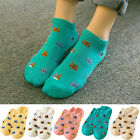 Fashion Womens Ladies Casual Cute Ankle High Low Cut Cotton Socks 1 Pairs UY