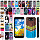 For BLU Studio 5.5 D610A TPU SILICONE Rubber Soft Protective Case Cover + Pen