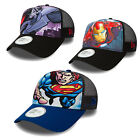 NEW ERA CAP A-FRAME TRUCKER CAP MARVEL DC COMICS BATMAN IRONMAN SUPERMAN