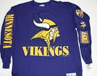 Vintage 1993 NFL Minnesota VIKINGS THE GAME Long Sleeve T-Shirt NWT NEWOldStk XL