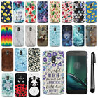 "For Motorola Moto G4 Play 5"" XT1607 XT1609 HARD Back Case Phone Cover + PEN"
