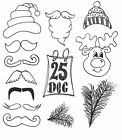 Dylusions Christmas Accessories Cling Mount Sets Collection from Ranger - DYR358