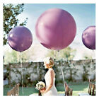 "Colors 1X 36"" Inch Big Large Giant Ballons Latex Wedding Party Helium Decoration"