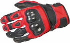 Scorpion SGS MK II Motorcycle Gloves / Red - All SIzes