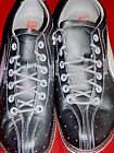 Womens shoes bowling athletic Puma Lucky Strike 352477 black silver $150 new 8.5