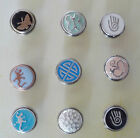 CLEARANCE Noosa Style Snap On Chunk Button Charms for Leather Bracelet Amsterdam