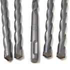 PACK OF 5, 10 x 210 SDS+ PLUS PROFESSIONAL MASONRY HAMMER DRILL BITS