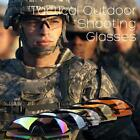 Tactical Outdoor UV400 Protection Police Shooting Safety Glasses Sports Cycling