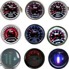 Auto Boost Water Temp Oil Pressure Tacho Voltage Vacuum Air Fuel Retrofit Gauge