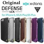 X-doria Lux Metal Aluminum Bumper Leather Cover Case For Apple iPhone 7 7 Plus