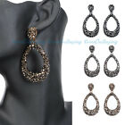 New Vintage Boho Fashion Jewelry Chandelier Women Gold Ear Stud Dangle Earrings