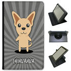 World Cartoon Dogs Universal Folio Leather Case For ACER Tablets