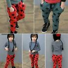 Vogue Toddler Boys Cotton Long Pants Stars Pattern Casual Trousers Bottoms 6M-4Y