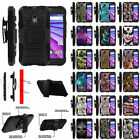 For Motorola Moto G 3rd Gen XT1548 Holster Clip Stand Protective Shock Case
