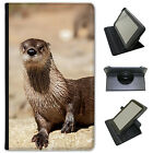 Otter Animal Universal Folio Leather Case For Lenovo Tablets