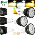 3W-15W Dimmable GU10 MR16 GU5.3 LED Spot Lights Bulb CREE/Epistar Bright Bulbs