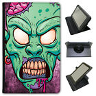 Scary Zombie Walking Living Dead Universal Leather Case For Amazon KindleTablets