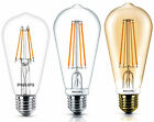PHILIPS LED Lampe Filament ST64 E27 Birne klar G95 G93 dimmbar 6 und 7 Watt