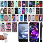 For Motorola Moto Z Force Droid Edition Design TPU SILICONE Case Cover + Pen