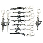 NEW Keychain csgo CF Game Fire Weapon Model Gunblack Key Chains Weapon AK47 M4A1